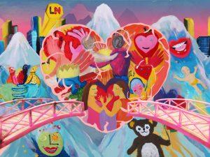 Liva Nova Team Mural